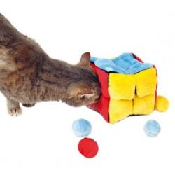 Cube peluche avec balles  trixie - 1