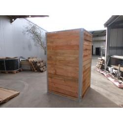 Cachette fixe en bois