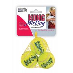 Jouet pour chien : Lot de 3 mini balles de Tennis non abrasives