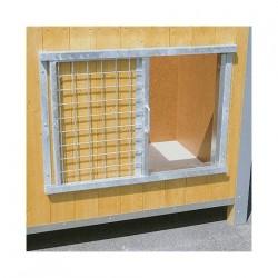 Fermeture d'entrée par grille coulissante pour niche CONFORT