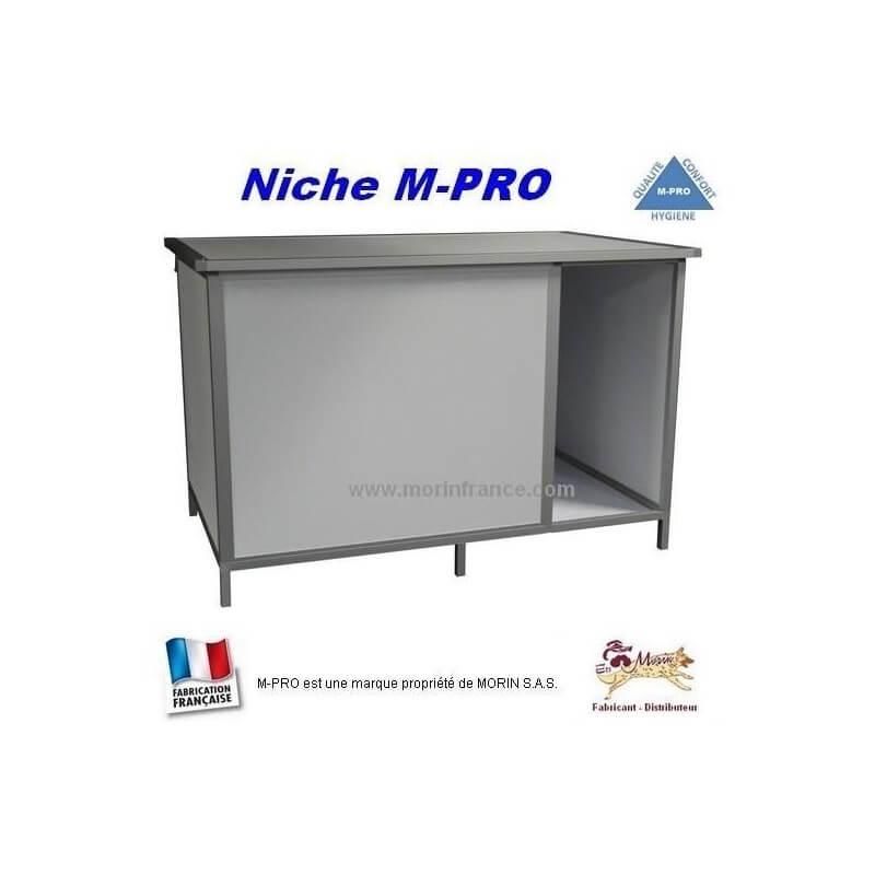 Niche pour chien en PVC / M-PRO