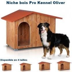 Niche bois Pro Kennel Oliver