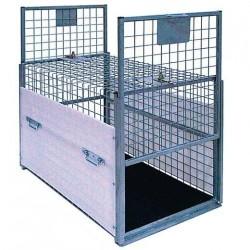 Cage de transport spéciale capture chien