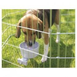 Gamelle + support de cage Crock Giant pour chiens et chats