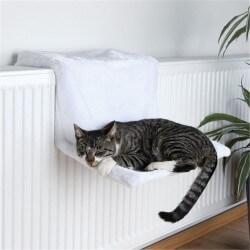 Lit radiateur en peluche