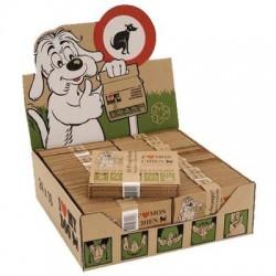 PRESENTOIR intérieur de sachets biodégradables pour déjections canines (rempli)