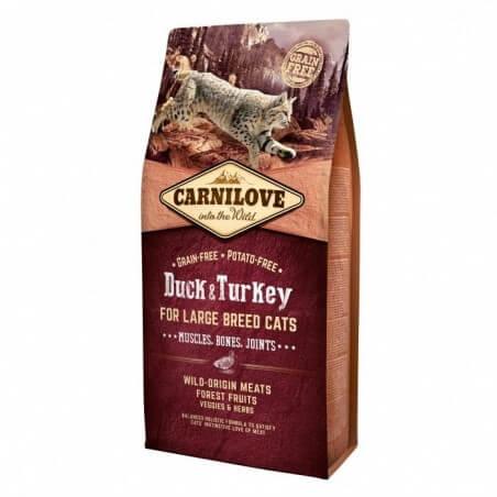 Carnilove Chat Large Breed - Canard et Dinde