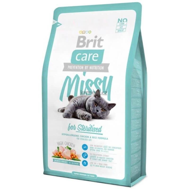 BRIT CARE : Missy for Sterilised - Alimentation pour chat Stérilisé