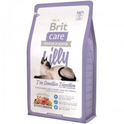 BRIT CARE : Lilly I'Ve Sensitive Digestion - Alimentation pour chat Sensible