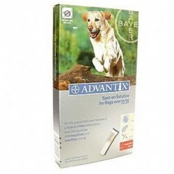 Advantix Grand Chien (25/40Kg-6 pipettes)