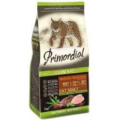 PRIMORDIAL - CAT ADULT Dinde et Canard - 2Kg