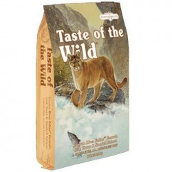 TASTE OF THE WILD CHAT - Truite & Saumon - 2kg