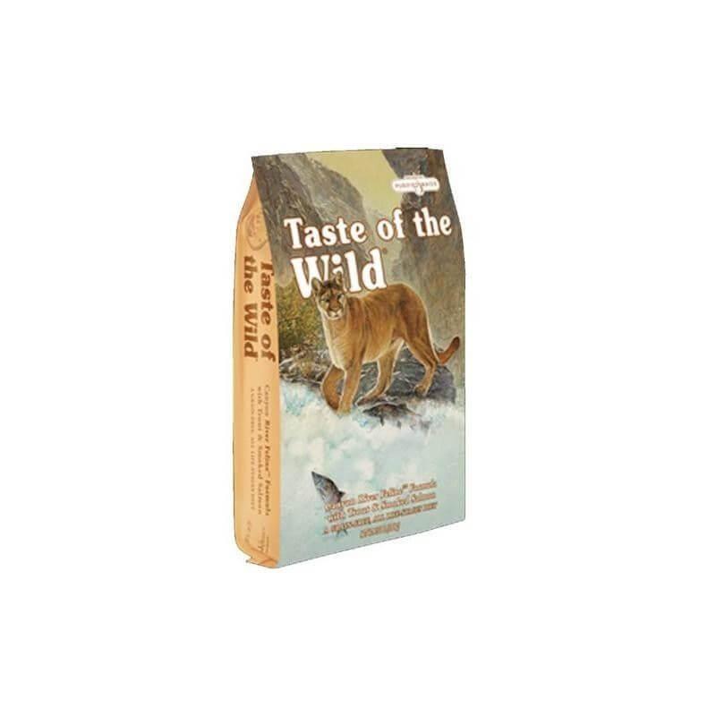 TASTE OF THE WILD CHAT - Truite & Saumon - 2kg