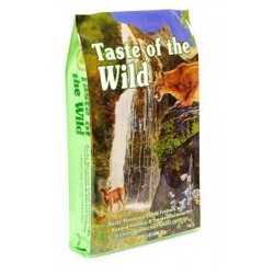 TASTE OF THE WILD CHAT - Saumon & Gibier - 2kg