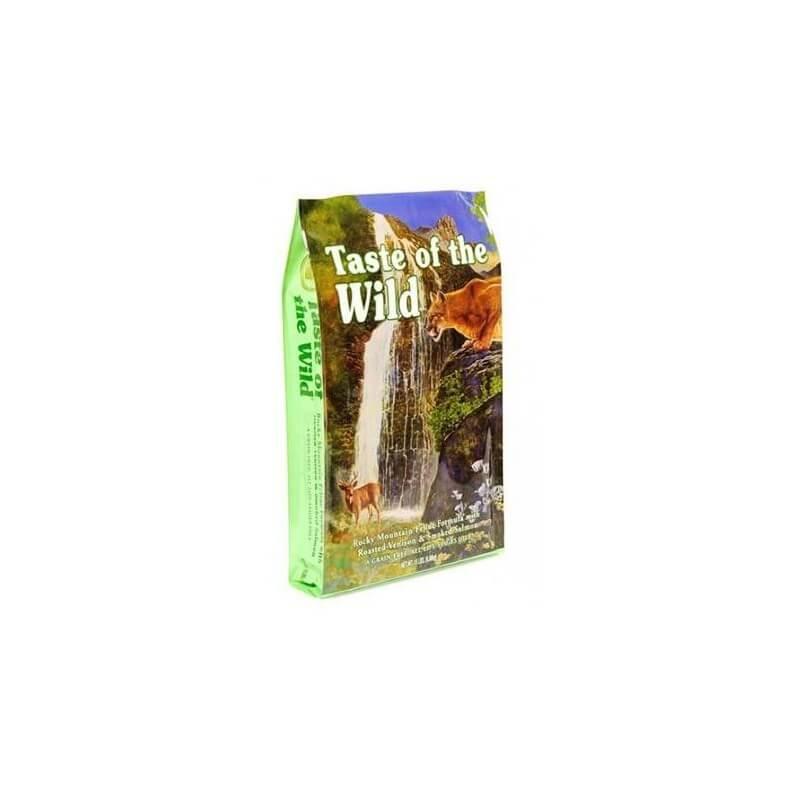 TASTE OF THE WILD CHAT - Saumon & Gibier - 2kg