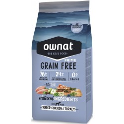 OWNAT GRAIN FREE PRIME - senior chicken and turkey
