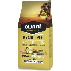 OWNAT GRAIN FREE PRIME - junior chicken and turkey
