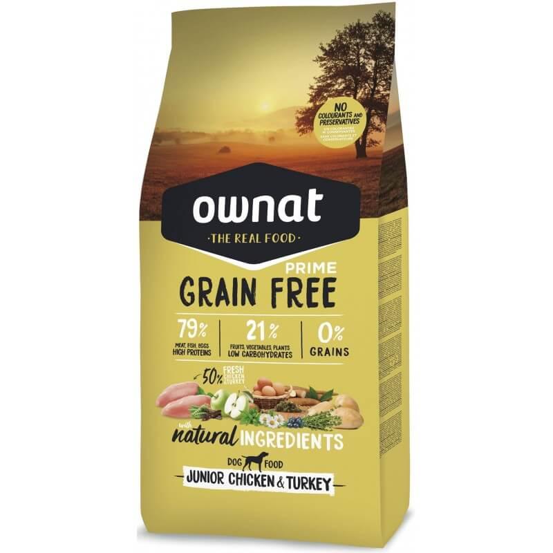 OWNAT GRAIN FREE PRIME - junior chicken and turkey