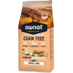 OWNAT GRAIN FREE PRIME - junior lamb