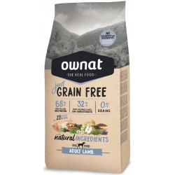 OWNAT GRAIN FREE JUST - adult lamb
