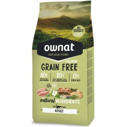 OWNAT GRAIN FREE PRIME CAT - adult chicken and turkey