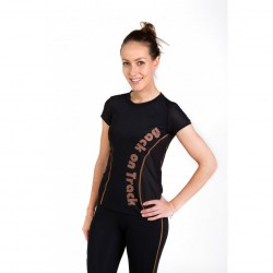 BACK-ON-TRACK SPORT : T-SHIRT IMPRIMÉ FEMME
