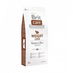 BRIT CARE - Weight Loss croquettes pour chien en surpoids - lapin et riz - 12 KG