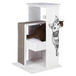 """Arbre à chats """"Maria"""" avec motif chat graphique  - 1"""
