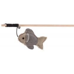 BE NORDIC - Jouet pour chat canne à pêche avec poisson inspiration scandinave