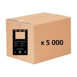 Carton de 5 000 sacs liasse à bretelles compatibles TOUTOUNET