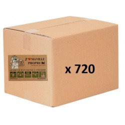 Carton de 720 sachets en papier biodégradables