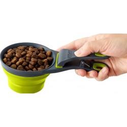 DEXAS - Klipscoop, goblet doseur de croquettes rétractable