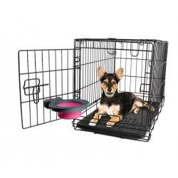 DEXAS - Gamelle de cage rétractable  - 1