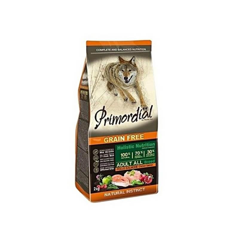 PRIMORDIAL - Adulte Poulet et Saumon