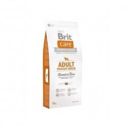 """BRIT CARE Croquettes pour Chien """"Adult Medium Breed"""" - Agneau et Riz  - 12 Kg  - 1"""